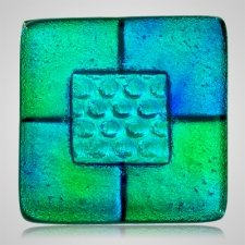 Aqua Memorial Cremation Ashes Tile