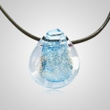Aqua Memory Glass Pendants