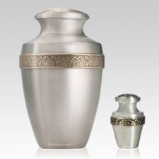 Arcadia Pewter Cremation Urns