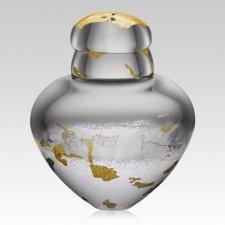 Arctic Glass Cremation Urn