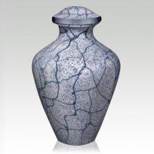 Arctic Metal Cremation Urn