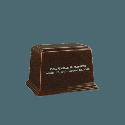 Ark Chocolate Mini Marble Urn