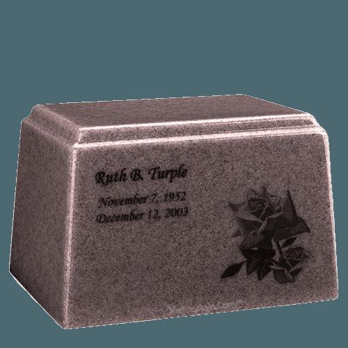 Ark Niche Basil Wood Marble Urn