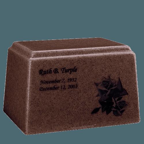 Ark Niche Chocolate Marble Urn