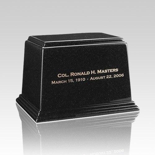 Ark Charcoal Medium Marble Urn