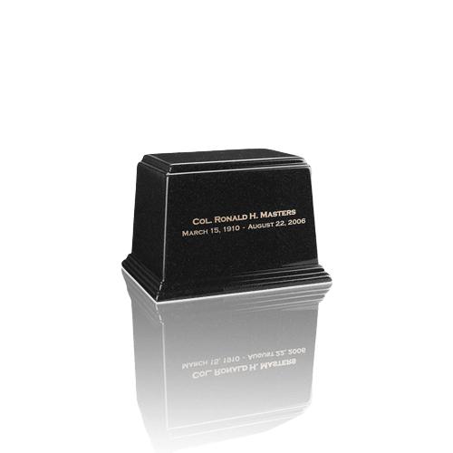 Ark Charcoal Mini Marble Urn
