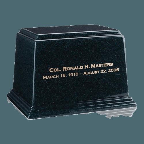 Ark Emerald Large Marble Urn