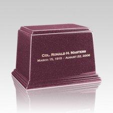 Ark Raspberry Medium Marble Urn