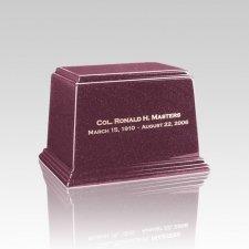Ark Raspberry Small Marble Urn