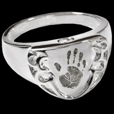 Armor Cremation Print Rings