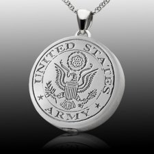 Army Cremation Pendant II