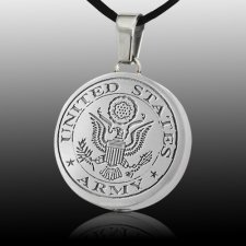 Army Cremation Pendant