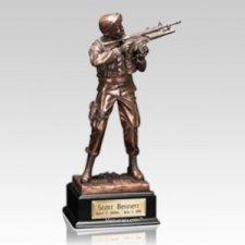 Army Infantry Keepsake Urn