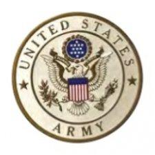 Army Insignia Medallion Appliques