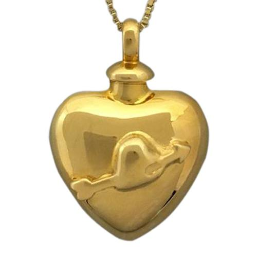 Arrow Heart Cremation Jewelry II
