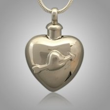 Arrow Heart Cremation Jewelry