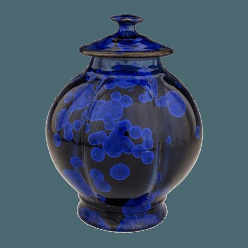 Cielo Azul Art Cremation Urn