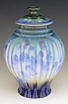 Glacier Art Cremation Urn