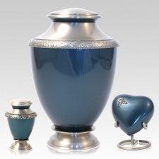 Artisan Azure Cremation Urns