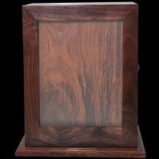 Artistic Photo Pet Wood Cremation Urn