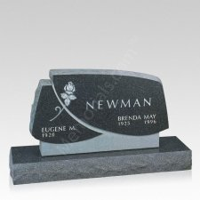 Ascension Companion Granite Headstone