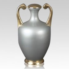 Argent Cremation Urn