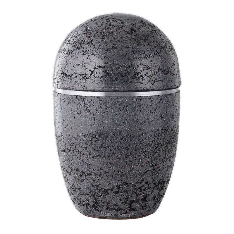 Atlanta Ebony Ceramic Cremation Urn