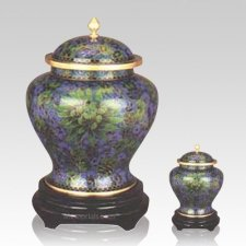 Atlantis Cloisonne Cremation Urns