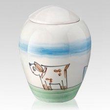 Attento Ceramic Dog Urn