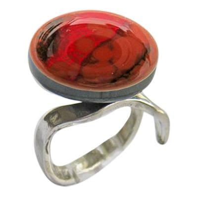 Auburn Memorial Ashes Ring
