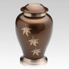 August Metal Cremation Urns