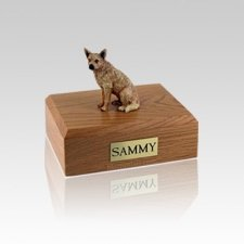 Australian Cattle Red Small Dog Urn