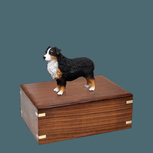 Australian Shepherd Small Doggy Urn