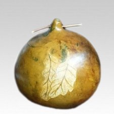 Autumn Love Gourd Cremation Urn