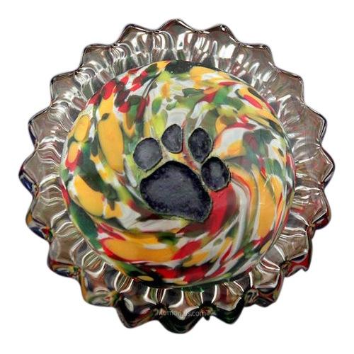 Autumn Swirl Pet Keepsake Urn