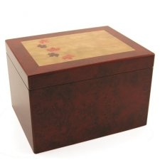 Autumn Wood Cremation Urn