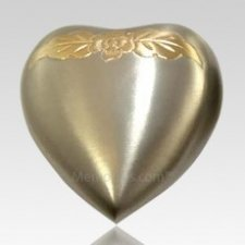 Avalon Pewter Heart Keepsake Cremation Urn