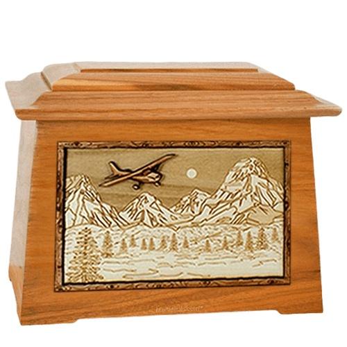 Aviation Mahogany Aristocrat Cremation Urn