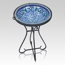 Azure Memorial Bird Bath