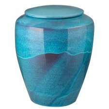 Azzurro Ceramic Cremation Urn