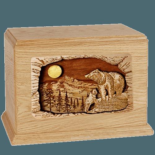 Bears Maple Companion Urn