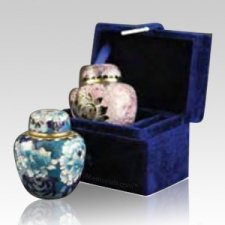 Blue Keepsake Box