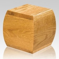 Bainbridge Oak Pet Urn