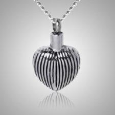 Balloon Heart Keepsake Pendant
