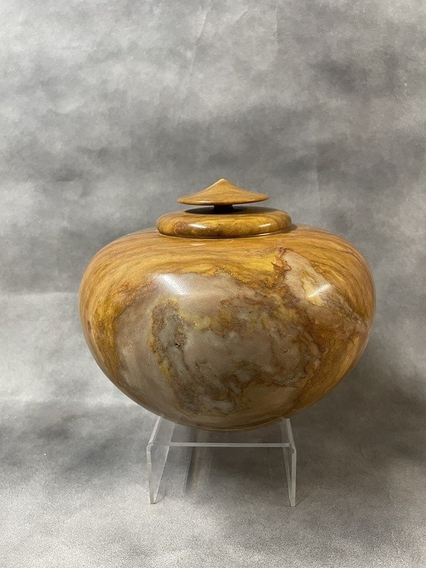 Baltic Green Alabaster Cremation Urn