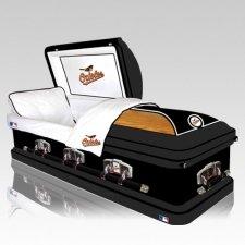 Baltimore Orioles Casket