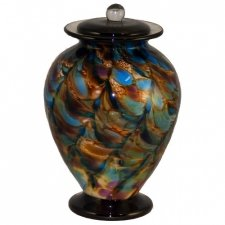 Bambolito Glass Cremation Urn