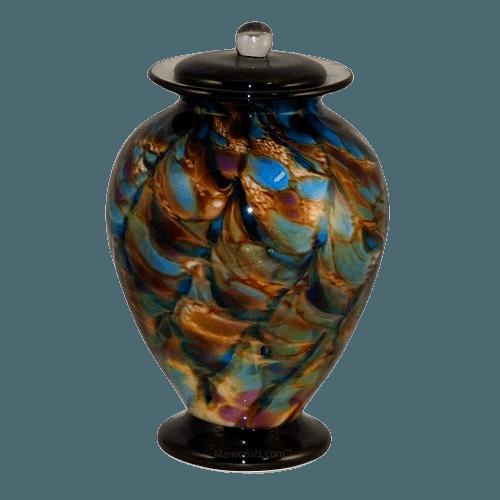 Bambolito Glass Cremation Urn