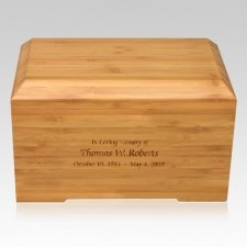 Bamboo Essence Cremation Urn