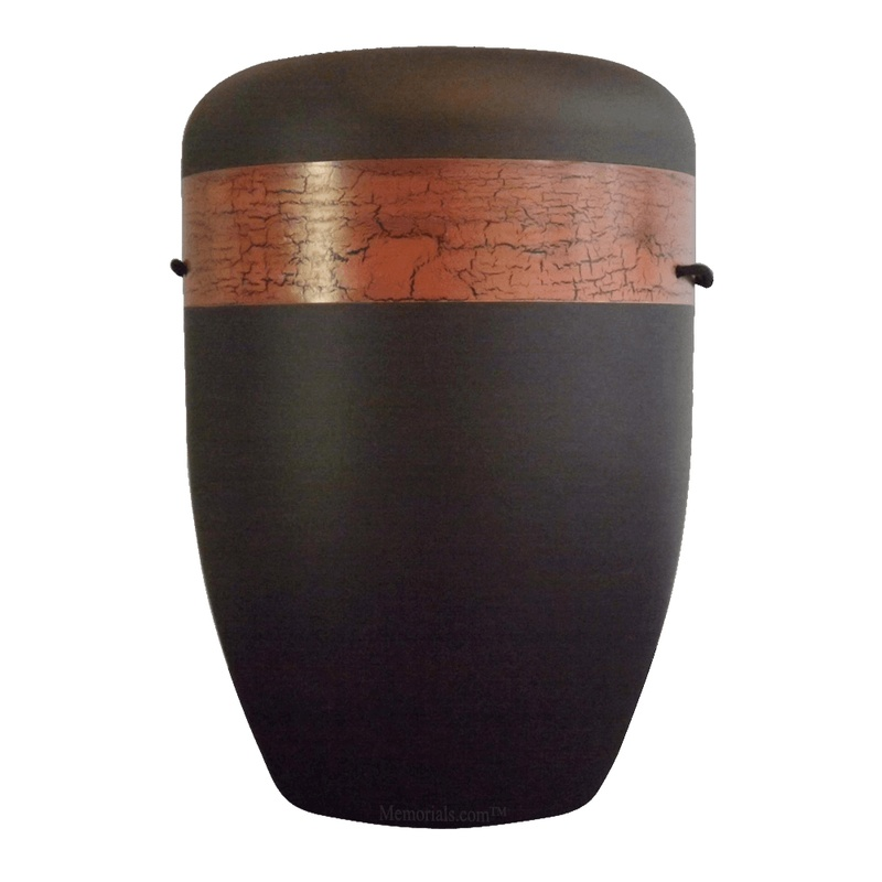 Bronzed Band Biodegradable Urn